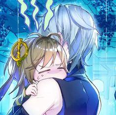 Elsword, Hug, Boy Or Girl, Wonderland, Drawings, Anime Boys, Rabbit, Girls, Bunny