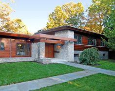 Mid Century Modern Home Exterior | Mid Century modern exterior.