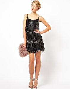 Frock and Frill   Frock and Frill Embellished Tiered Cami Dress at ASOS