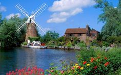 Shop our best value Holland Windmill Pictures on AliExpress. Check out more Holland Windmill Pictures items in Home & Garden, Computer & Office, Home Improvement! And don't miss out on limited deals on Holland Windmill Pictures! Norfolk Broads, Norfolk England, Places To Travel, Places To See, The Tourist, Holland Windmills, Jolie Photo, Beautiful Places In The World, Amazing Places