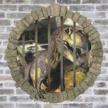 3d dinoszauruszok keresztül falimatrica Jurassic Park lakberendezési zooyoo1448…