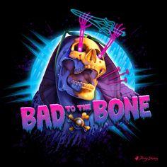 Skeletor  Bad to the Boneby Rocky Davies