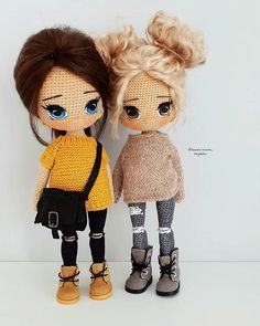 Doll Amigurumi Free Pattern, Crochet Dolls Free Patterns, Crochet Doll Pattern, Amigurumi Doll, Doll Patterns, Cute Crochet, Crochet Crafts, Crochet Baby, Crochet Projects