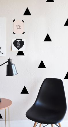 Triangles WALL DECAL by TheLovelyWall on Etsy