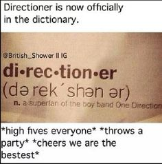 Yes im proud!!(: <<<< hahaha seriouslyyyyy?? awesomeeee!!!!!>>>>> Omg! Congrats everyone! We're the best! I wonder how many fandoms have their names in the dictionary... Not many... ILY! x>>>>>>>YAAAAAAAA