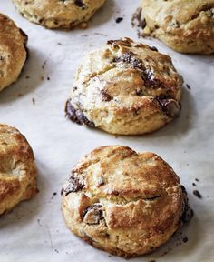 Why not thank Mom this Mother's Day with a batch of homemade Chocolate Pecan Scones? Or better yet, homemade scones and a signed copy of… Chocolate Chip Shortbread Cookies, Toffee Cookies, Yummy Cookies, Quick Cookies, Brunch Recipes, Sweet Recipes, Dessert Recipes, Baking Recipes, Cookie Recipes