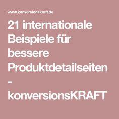 21 internationale Beispiele für bessere Produktdetailseiten - konversionsKRAFT