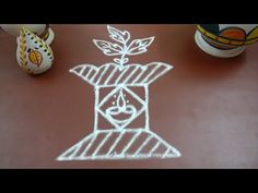 Thulasi Maadam kolam, please add some rice flour with your chalk powder to serve some livings, May God bless your dine. Thanks for subscribing Susi's Kolam c. Blessed, Thankful, Make It Yourself, Christmas Ornaments, Holiday Decor, Youtube, Image, Art, Xmas Ornaments