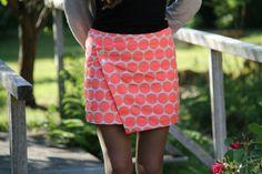 mini jupe portefeuille maison de victor printemps 2014