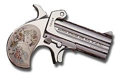 The Lady Derringer, I am going to own this gun. This is also part of what is going to be on my tattoo. the barrel will be different though.