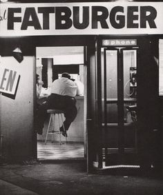 The Original Fatburger, Los Angeles c.1972. Man oh man, this is where you went to eat huge custom burgers after clubhopping all night. Saw many celebs here back in the day, including the great Muhammad Ali!