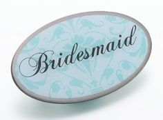 Aqua Oval Bridesmaid Pin by All Occasion Bridal Collection, http://www.amazon.com/dp/B009T9BJPS/ref=cm_sw_r_pi_dp_aRA-qb0VY066D