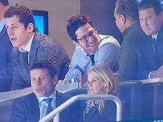 James Neal in glasses, a/k/a the screen shot that made lots of female Penguins fans lose their minds on Twitter, 12/16/13