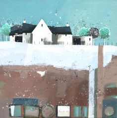 Old Troughs by Modern Contemporary Artist Dionne SIEVEWRIGHT