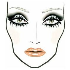 mac face charts | Pure Bliss Bridal & Beauty House