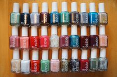 Nail Polish: Lot Of 30 Different! Essie Nail Polish Colors No Repeats! Full Size! New!! BUY IT NOW ONLY: $69.99