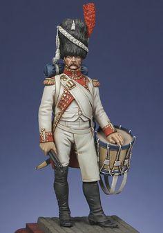 Garde impériale à pied : Tambour de grenadiers hollandais de la garde 18012