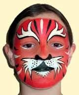 red face paint - Google Search