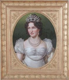 "Caroline Augusta was a Bavarian princess who, in 1816, became Empress of Austria thanks to an arranged marriage with Emperor Francis I. Much younger than her husband, she became a ""second mother"" to Napoleon's son, the Duke of Reichstadt."