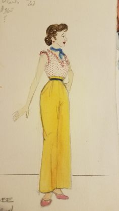 The Pajama Game Costume design by Stephanie Toews