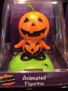 Halloween Pumpkin Solar Power Shaker + FREE GIFT!! NEW!!! Cute!!