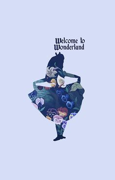 Blue Alice in Wonderland by MargaHG