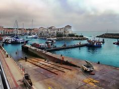 A view of the harbour at Port St Francis, Eastern Cape, South Africa.