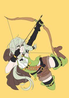 Heres high elf archer from goblin slayer. Goblin, Elfa, Fantasy Characters, Anime Characters, Anime Elf, Anime Titles, Sword Art Online Kirito, High Elf, Cool Anime Girl
