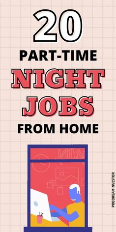 These part-time night jobs from home will help you earn some extra money from the comfort of your home. Legit evening jobs that pay well. #workfromhome #makemoneyonline #businessideas #sidehustles Earn More Money, Make Money Fast, Earn Money Online, Make Money Blogging, Make Money From Home, Online Group, Online Blog, Online Jobs, Night Jobs