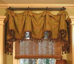 Check Out Our Elegant Marley Curtain Valance Sewing Pattern, Fully Lined & Interlined Valance, Adaptable To Various Window Widths, Perfect For Redecorating! Kitchen Window Treatments, Custom Window Treatments, Roman Curtains, Valance Curtains, Kitchen Curtains, Valance Patterns, Sewing Patterns, Custom Valances, Custom Curtains