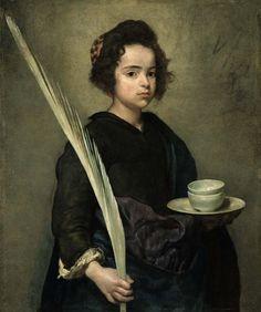Saint Rufina - Diego Velázquez