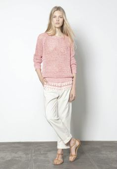 In love with this pink sweater (Vanessa Bruno)