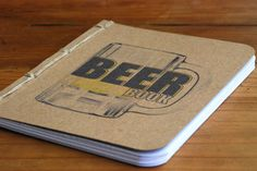 Beer Book- A Tasting Journal- as Featured In Draft Magazine. $14.00, via Etsy.