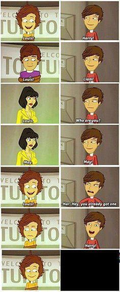 the adventurous adventure of one direction is probably one of the best fan fictions of all time .. love this part!
