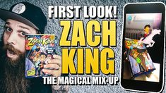 Zach King The Magical Mix-Up AR Book - First look!
