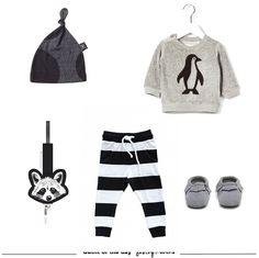 oh baby baby monochrome outfit of the day