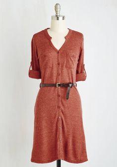 T.A.-Okay Dress in Paprika, #ModCloth