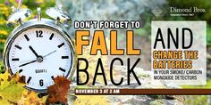 Yes, it is that time again to switch our clocks back but also take the time to not only check your home but also finances so that you are ready! Clocks Back, Accounting Firms, Investment Portfolio, Daylight Savings Time, Fall Back, Water Pipes, Finance, Investing, Business