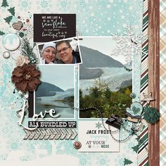 I used Rustic Winter Collection by Amanda Yi Designs. Template is Oh So Blessed 3 by Fiddle Dee Dee Designs.