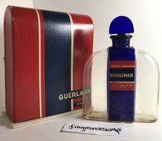 GUERLAIN SHALIMAR FLACON BORNE, CIRCA 1931. EXTREMELY RARE AND NEVER SEEN! | eBay Perfume Bottles, Ebay, Jewel, Fragrance, Vintage Perfume Bottles, Gem, Perfume Bottle, Jewels, Jewerly