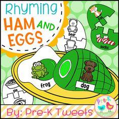 Green Eggs And Ham Rhyming