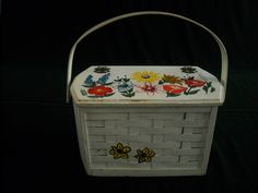 "Vintage Signed Caro Nan Basket Purse ""Holiday Boutique"" 20%OFF  CLOSING20"