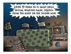 The Daily Dalek :   Day 200: Dalek TV Night 2