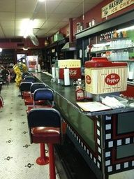 Corsicana, Texas has the oldest continually-operated soda fountain in Texas. At Caleb's Diner, you can get fountain Dr. Pepper. Yee-Haw! texasgotitright.com