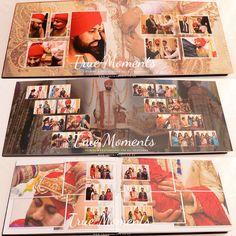 Wedding Album Cover, Wedding Album Layout, Wedding Collage, Wedding Photo Books, Wedding Photo Albums, Marriage Photo Album, Indian Wedding Album Design, Memories Photo Album, Album Cover Design