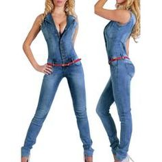 #newarrival #women #jeans #jumpsuit #european