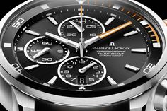 Maurice Lacroix #orange Pontos S #watch for #Movember. Win a limited engraved edition!