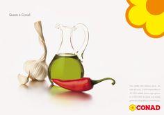 Conad, la bandiera; Creatività della ABC, digital division: http://we-b.it