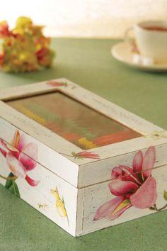 O segredo das caixas / DIY, Craft, Upcycle
