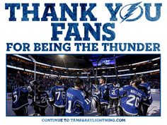 It's easy to be a Bolts fan when you have such an amazing team!